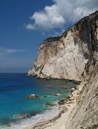 Erimitis Beach, Paksoi, Greece. By marianina