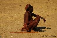 Himba tribe leader
