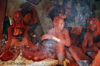 Himba - women of the tribe leader