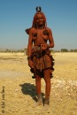 Married Himba woman