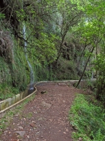 Shady passages and waterfalls