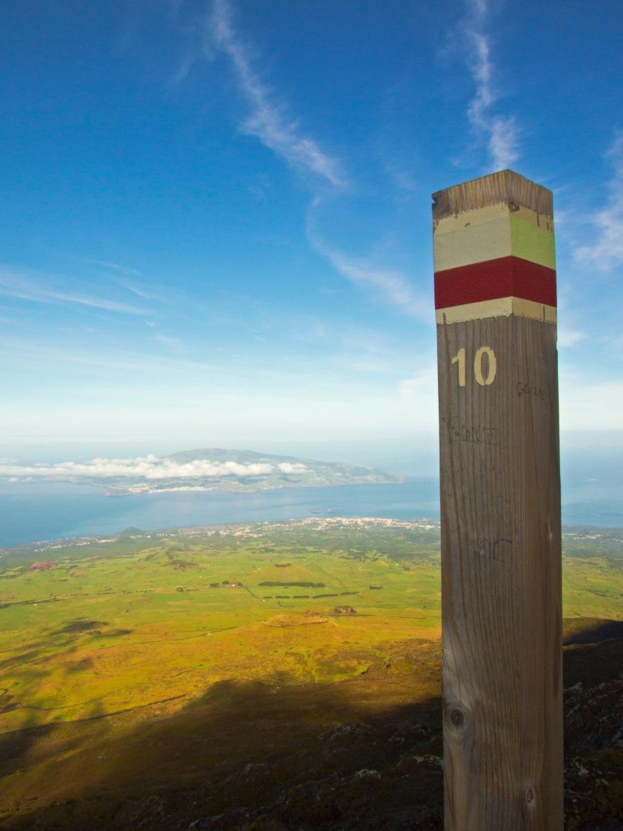 Climbing up Pico