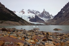 A closer look to the glacier